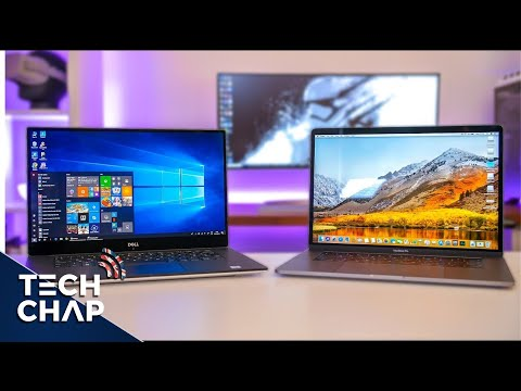 Macbook Pro 15 (2018) vs Dell XPS 15 (9570) - Best Laptop? | The Tech Chap