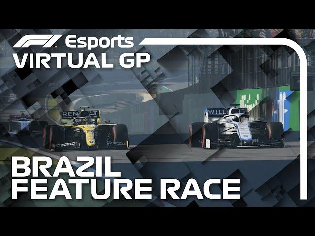 2021 Virtual Sao Paulo Grand Prix: Feature Race Highlights