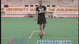 Place Kicking drills and instruction for kickers with Travis Dorsch