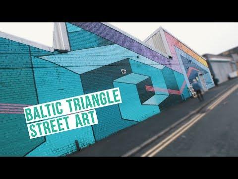 Baltic Triangle Street Art - #WeekendFilmFest