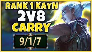 #1 KAYN WORLD DUOING WITH THE RANK 1 AKALI (FT. PROFESSOR AKALI) - League of Legends