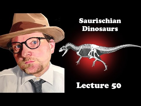 Lecture 50 Overview of Saurischian Dinosaurs