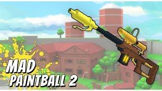 MELHOR JOGO DE PAINTBALL DO ROBLOX Mad Paintball 2