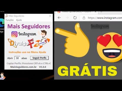 Como ter seguidores no Instagram -  Software Grátis