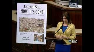 Cheri Bustos Gives Floor Speech On Illinois Tornadoes