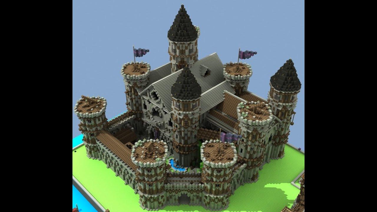 как строить замки в майнкрафте #2