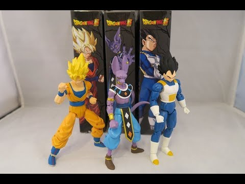 Dragonball Super Figures Review