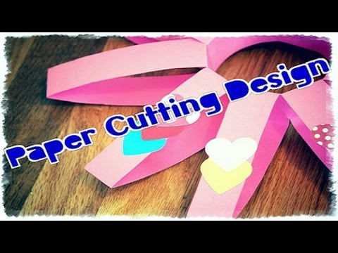 Papercraft How to | Make of Paper Danglers | Paper Cutting Design