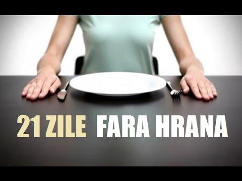21 zile fara hrana