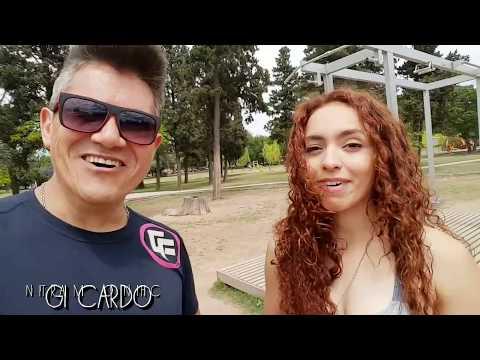 Gi Cardo - Training en el parque Sarmiento de Cordoba