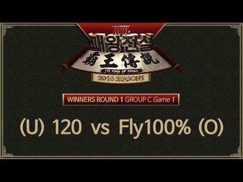 NGTV WAR 3 LEAGUE Season 1 Winners Round 1 Group C [ 120 vs Fly100% ] Game 1 160402