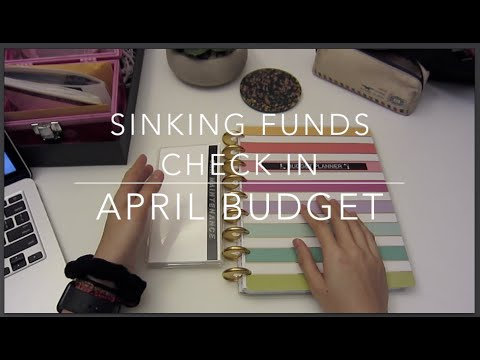 sinking-funds-check-in- -april-budget- -dave-ramsey-inspired- -jamzplanz