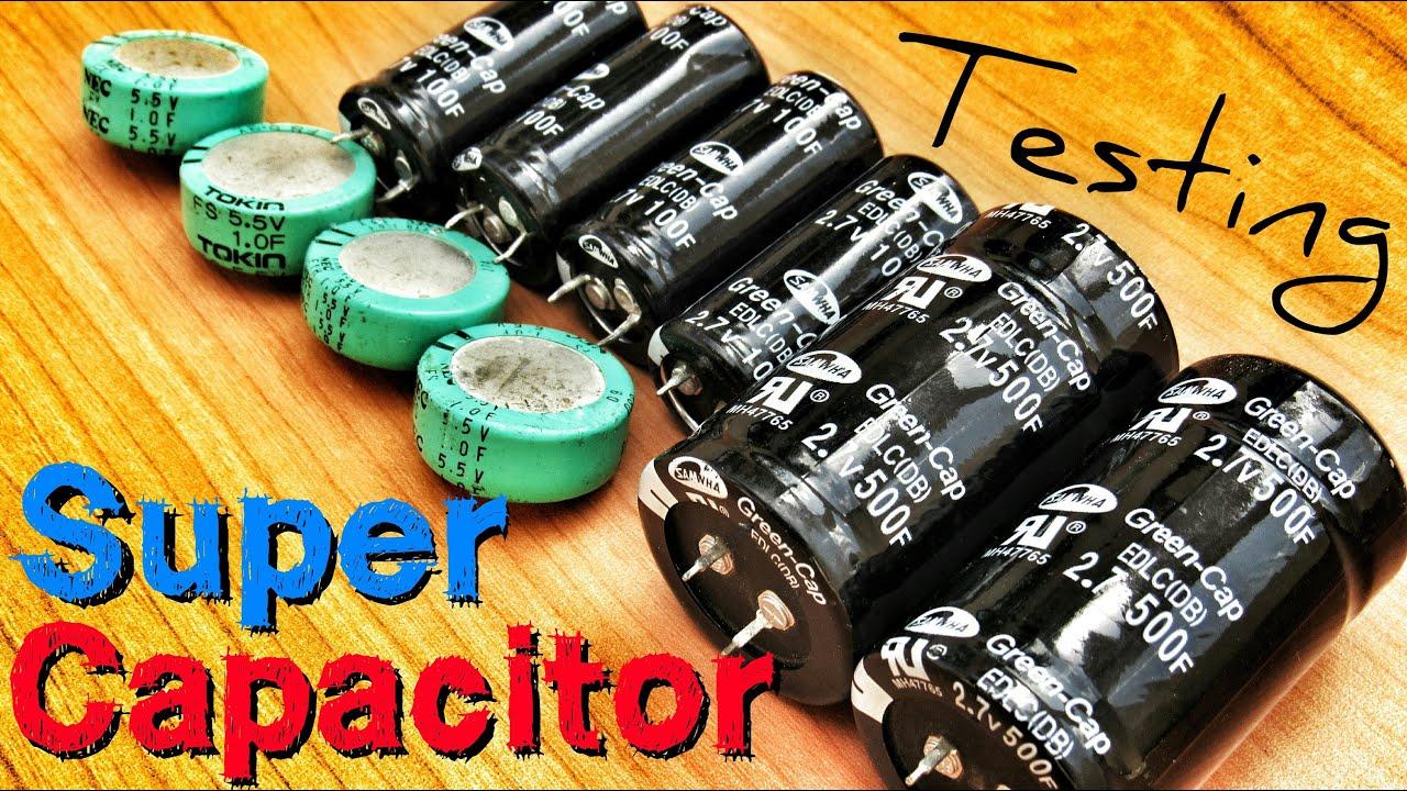 Supercapacitor Vs Battery Youtube