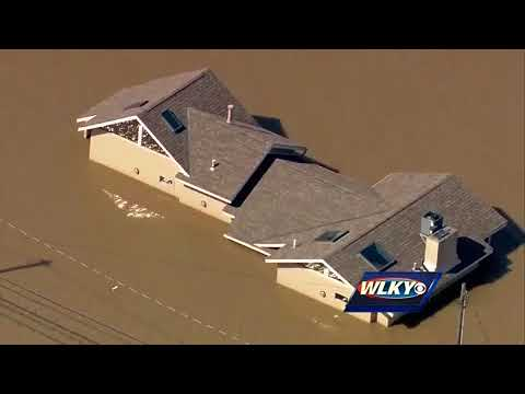 AERIALS: WLKY Chopper HD over Tuesday's flooding