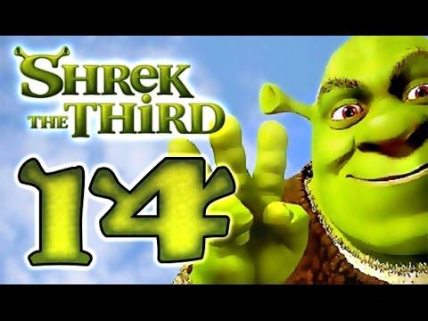 Shrek The Third Walkthrough Part 14 (PS2, PSP, Wii, PC) Final Boss + Ending
