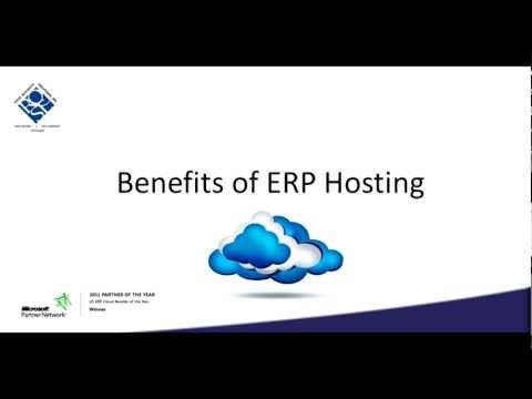 IT Benefits of ERP Hosting
