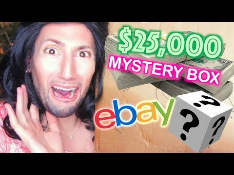 I BOUGHT A $25,000 MYSTERY BOX FROM EBAY