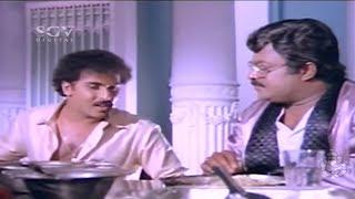 Ravichandran Funny Explanation about Wheat Grow | Anjada Gandu Movie | Kannada Comedy Scenes