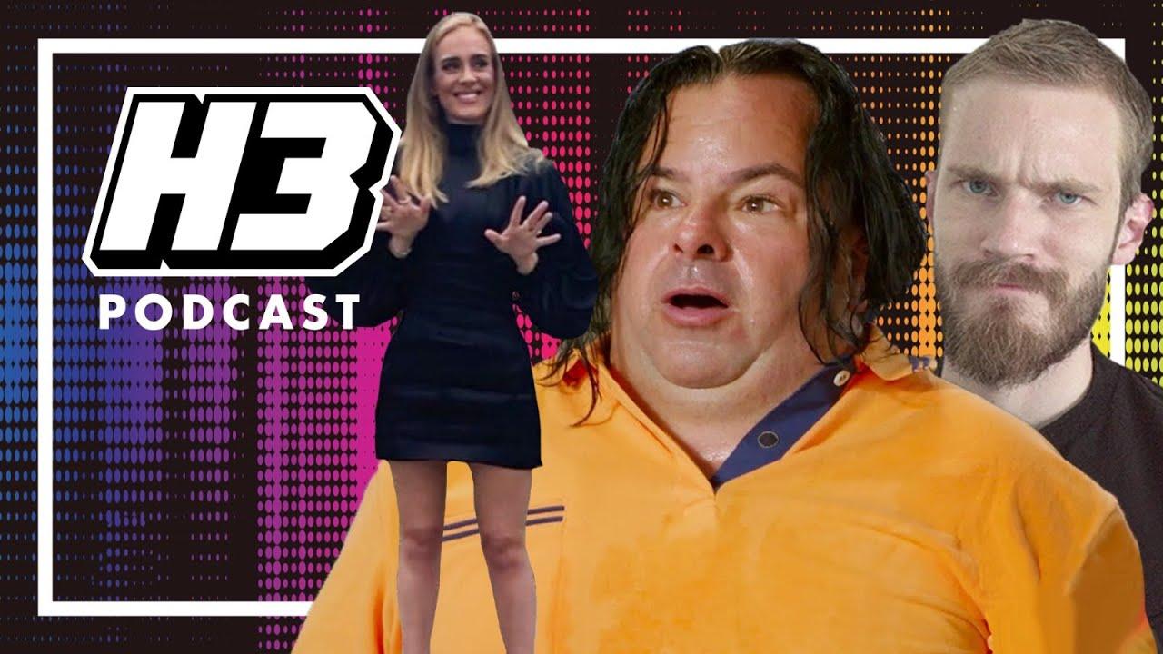 Big Ed Is Taking HEAT & Adele & PewDiePie - H3 Podcast #189