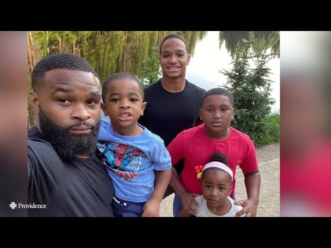 Tyron Woodley - How do you talk to your kids about mental health?