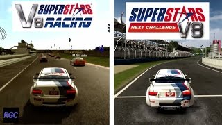 Superstars V8 Racing vs Superstars V8 Racing Next Challenge - BMW M3 E90 Graphics & Sound Comparison