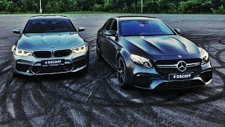 Bmw M5 F90 Vs. Mercedes-Amg E63s. Спецвыпуск
