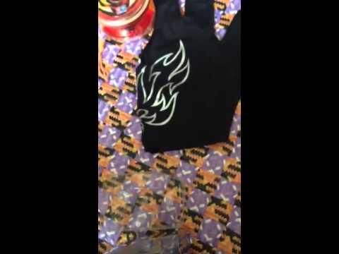 mở hộp yoyo Flame Tiger V