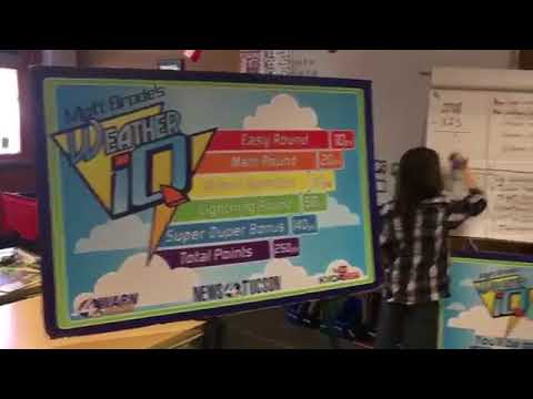 Weather IQ at Mary Belle McCorkle Academy of Excellence