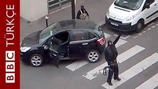 Charlie Hebdo'ya saldıran Kouachi kardeşlerin yeni görüntüleri - BBC TÜRKÇE