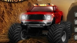 Monster Trucks For kids - Monster Truck Demolisher All 24 levels