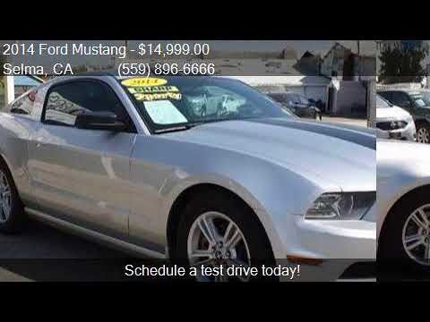 2014 Ford Mustang V6 Premium Coupe 2d For Sale In Selma Ca Youtube