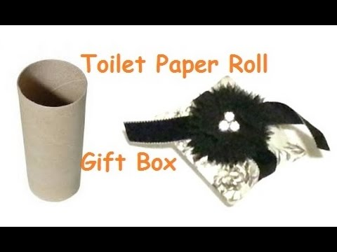 DIY Toilet Paper Roll Gift Box YouTube
