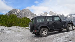 Albanien Shqipëria Offroad