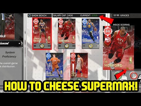 2K SCREWS UP AGAIN! HOW TO ABUSE NEW SALARY CAP! NBA 2K18 MYTEAM SUPERMAX