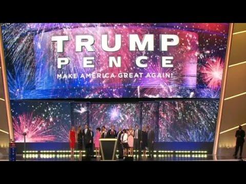 Trump family celebrates GOP nomination