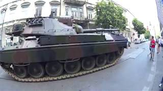 Жизнь в Польше.Военный танк Леопард 1.Życie w Polsce.Lublin.2018