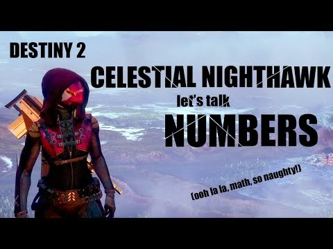 Let's Talk Numbers: Celestial Nighthawk Analysis (Destiny 2)