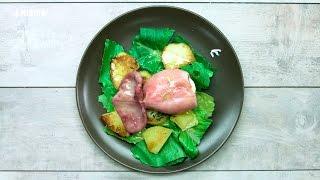 Яйцо в кальмаре на молодом картофеле [Рецепты от Рецептор]