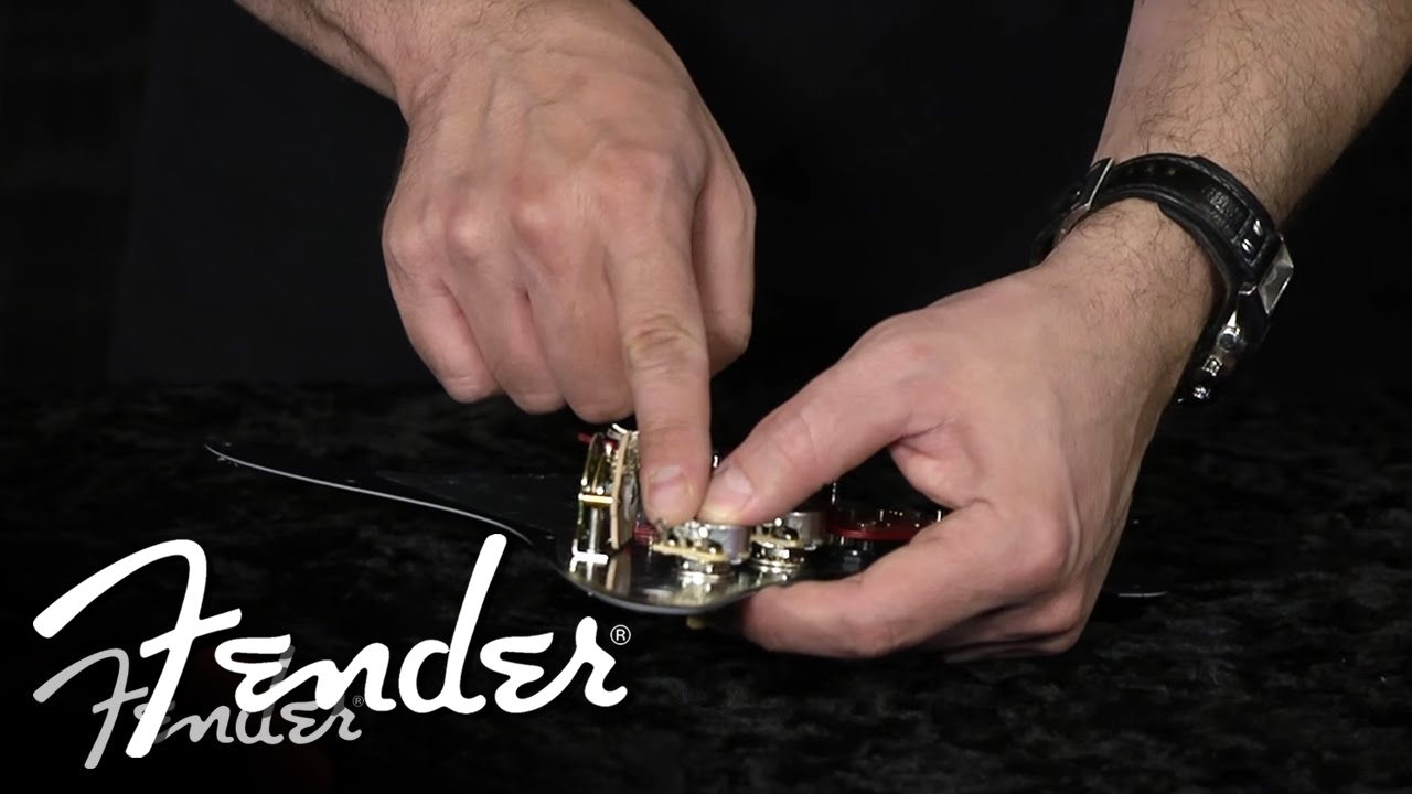 How To Change Single Coils Humbuckers Fender Youtube Squier Stratocaster Wiring Diagram One Volume Tone For Hss