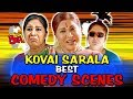 Kovai sarala best comedy scenes  south indian hindi dubbed best comedy scenes
