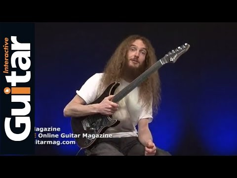 Vigier Excalibur Fretless Guitar Review With Guthrie Govan - Guitar Interactive Magazine