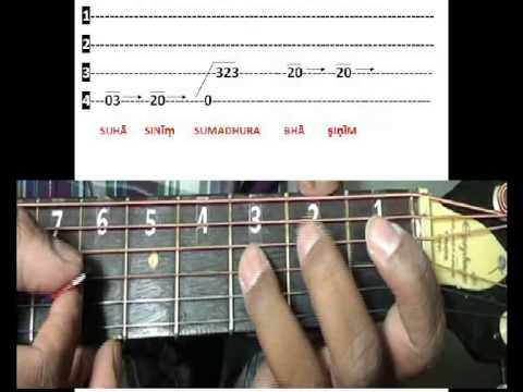 Guitar vande mataram guitar chords : Vande matarm song Guitar lesson part 2 - YouTube
