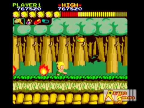 Wonder Boy Arcade FULL Sin errores - System 1
