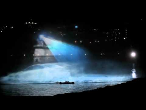 Reference - Car Launch Events; Water Screen Projection