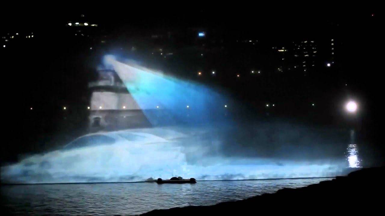 Reference Car Launch Events Water Screen Projection Youtube