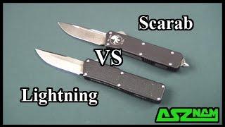 Что выберем? Microtech Scarab VS Lightning OTF. Обзор-сравнение.