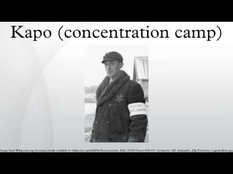 Kapo (concentration camp)