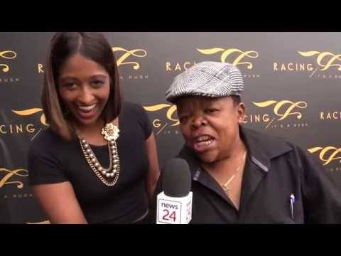 We catch up with funny man Alfred Ntombela, watch him tell us why he's 'too fat'