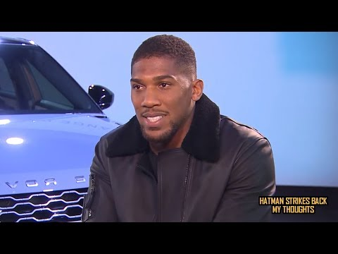 "ANTHONY JOSHUA: ""I'M NOT WATCHING DEONTAY WILDER VS TYSON FURY""!!!"