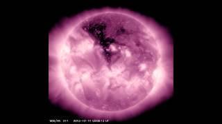 Massive Coronal Hole To Blast Earth With Solar Wind   Video